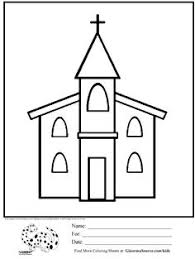 Small Picture Church Coloring Page Educationcom VilleTownCiudad