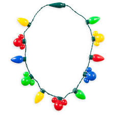 Battery Christmas Light Necklace Created Especially For Walt Disney World Resort And