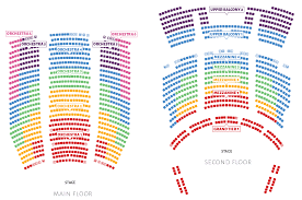 Eccles Seating Chart 1 Tier 3 Eccles Theater Seating Chart Www