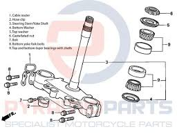 Steering Head Bearings Fitment Guide Pyramid Parts Worldwide