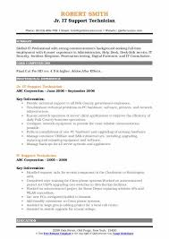 Support Technician Resume It Support Technician Resume Samples Qwikresume