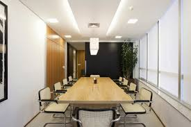 conference room design ideas office conference room. Brilliant Conference Room Design For Your Success : Brazilian Modern Office Interior With Long Table Ideas C