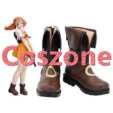 GUN X SWORD Wendy Garrett Cosplay Shoes Boots Halloween Carnival Cosplay  Costume Accessories|Shoes| - AliExpress