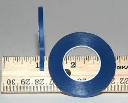 1 8 Chart Tape Tape Blue Matte 10 Pack 1 8 Inch 3 Mm Chart Tape Whiteboard Gridding Tape Artist Tape Model Hobby Tape Dry Eraser Board Tape