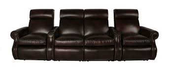 Bentley Leather Home Theater Leather Creations Furniture