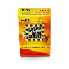 Board Games Sleeves - <b>Non</b>-Glare - Mini (41x63mm) - <b>50 Pcs</b> ...