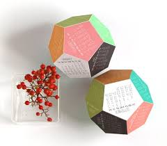 3d Paper Flower Calendar Make A 3d 2015 Calendar Free Printable A Piece Of Rainbow
