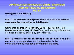 unit crime and effect 68 approaches to reduce crime disorder and anti social behaviour