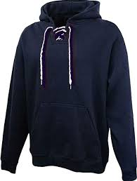 Pennant Sportswear Mens Face Off Pull Over Hoodie Navy Blue