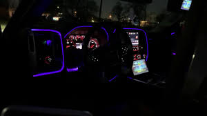 2014 Gmc Sierra Interior Lights Gmc Sierra Ambient Lights On Dash