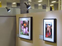 accent lighting for framed photography