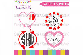 Heart, valentine, love icon in valentine ✓ find the perfect icon for your project and download them in svg, png, ico or icns, its free! Valentine S Svg Valentine Frames Monogram Svg Valentines Love Arrow Svg Svg Dxf Eps Files Cricut Design S Monogram Frame Monogram Svg Valentines Frames