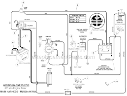 murray 309029x11e parts list and diagram 10 30 fig c1 harness chassis wire
