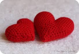 Heart Crochet Pattern Classy Owlishly Corazoncitos Free Amigurumi Heart Pattern In 48 Sizes