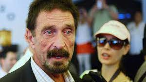 John McAfee on arrest: 'I was impaired'