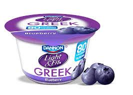 Dannon Light And Fit Greek Yogurt Blueberry Nutrition Greek Yogurt Blueberry Lightandfit