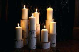 fireplace candle insert ideas