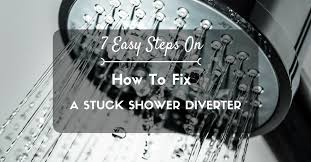 how to fix a stuck shower diverter 0 you
