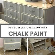 diy dresser overhaul with chalk paint
