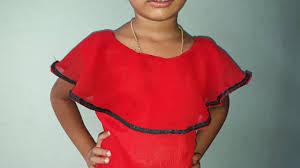 Diy Designer Cape Cutting And Stitching Full Tutorial Cape Frock Kids Cutting And Stitching Malayalam