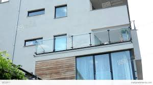Balcony Fence modern building balcony windows sky fence with nature 4685 by xevi.us