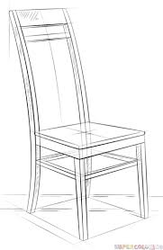 chair drawing. how to draw a chair drawing 8