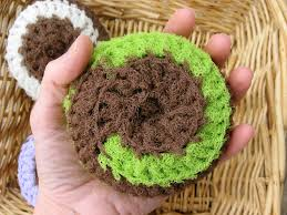 Free Crochet Patterns For Scrubbies Adorable EarthFriendly Cleaning With Crochet Scrubbie Patterns