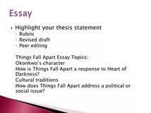 argumentative essay topics for things fall apart essay about argumentative essay topics for things fall apart