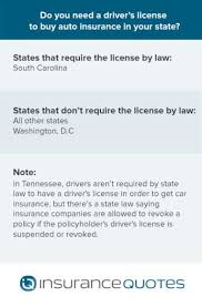 Licensing requirements for california insurance professionals and companies. Can You Get Auto Insurance Without A Driver S License