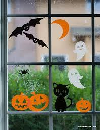 love halloween window decor: halloween window clings diy halloween window clings diy halloween window clings diy