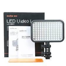Godox Led Video Light Mobilephone Lighting Godox Led126 Video Lamp Light Filter For Digital Camera Camcorder Dv Canon Nikon Sony Panasonic
