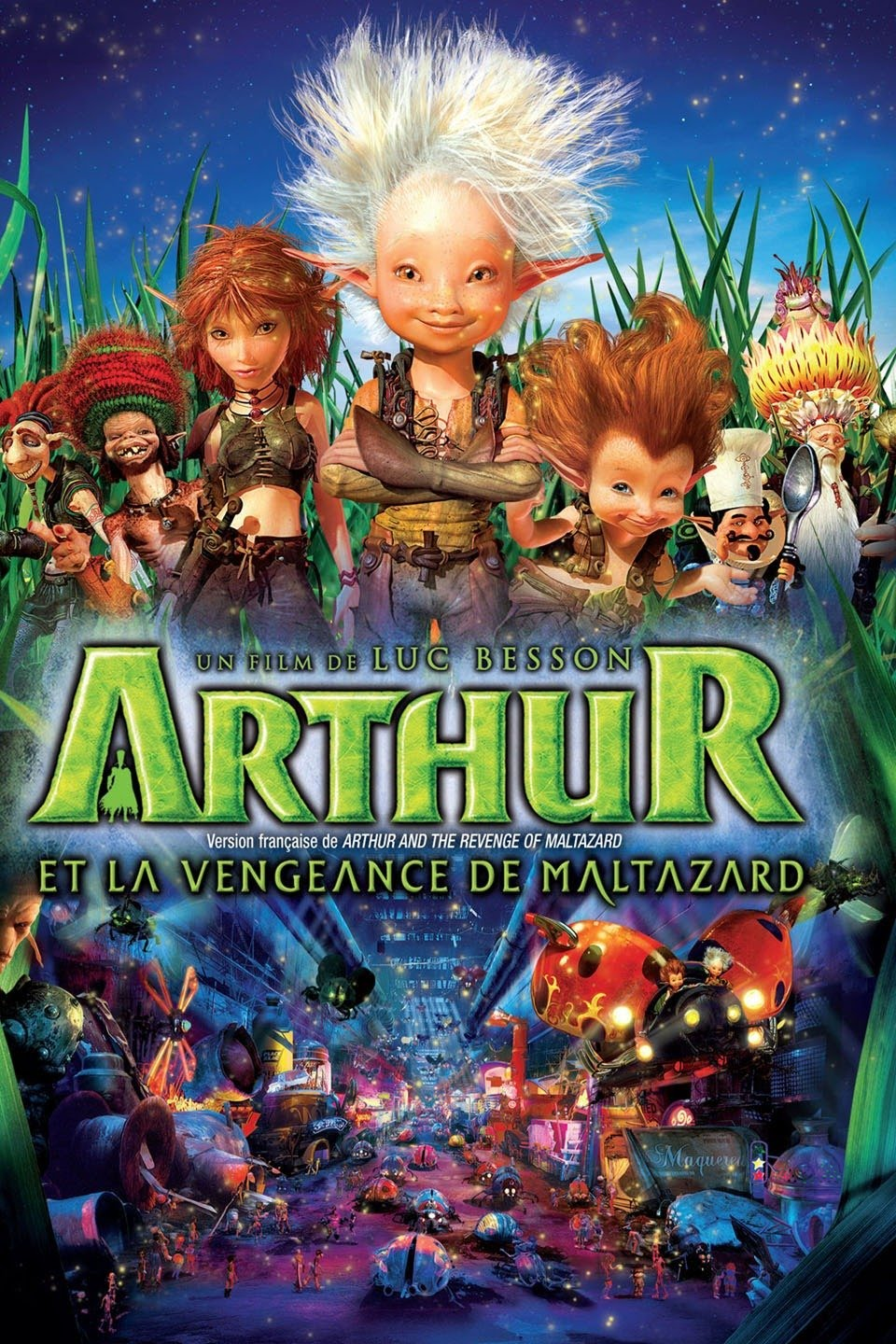 download Arthur and the Revenge of Maltazard (2009) Dual Audio Hindi-English  480p | 720p