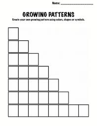 Growing Patterns Classy Copy Of Growing Patterns Lessons Tes Teach