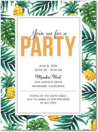 Tropical Party Invitations Tropical Delight Party Invitations In Mango East Six My Fellow