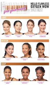 Benefit Foundation Colour Chart Hello Flawless Oxygen Wow Liquid Foundation In 2019 Hello