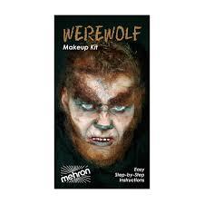 6 pack mehron character makeup kit werewolf walmart