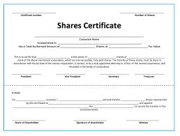 Template Share Certificate 10 Share Certificate Templates Word Excel Pdf Templates Www