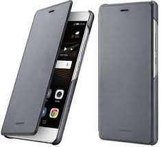 huawei p9 lite black. image is loading new-genuine-original-huawei-p9-lite-grey-folio- huawei p9 lite black