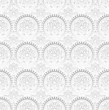 Fancy Wallpaper Seamless Fancy Silver Wallpaper Royalty Free Cliparts Vectors