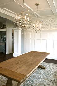 Amys Casablanca Dining Room Transformation   Ballard Designs Kitchen Rugs Good Looking