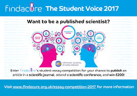 the student voice findacure advert published scientist