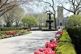 fordham university rose hill. fordham university in the bronx is a lush campus but less natural and more sculpted rose hill