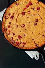 Cranberry Maple Skillet Cornbread Cookie And Kate