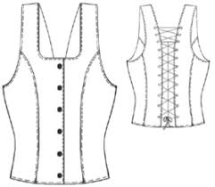 Corset Pattern Free Delectable Women Others 48 Corset