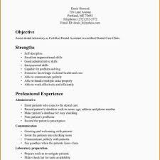 Dentist Resume Sample Dental Resume Template Fred Resumes 40