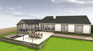 extension design ideas kitchen garden room photo 1
