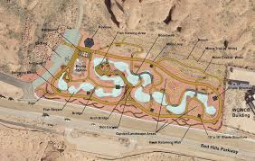 desert gardening. Overhead Map Detailing What The Red Hills Desert Garden Will Look Like Once Completed | Image Gardening