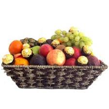 fruit basket ferrero chocolates free delivery