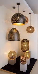 oriental lighting. Oriental Style Table Lamp 33cm Ø E27 Lighting