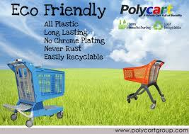 polycart super eco friendly all plastic shopping cart benefits eco friendly